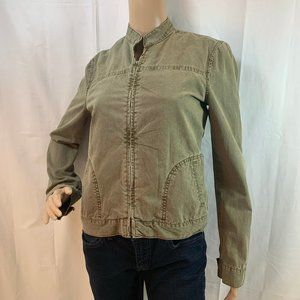 Lucky Brand Size S Olive Light Weight Jacket